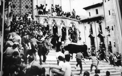 Una foto de la Vaquilla de 1959, en 'La mirada del Tiempo'
