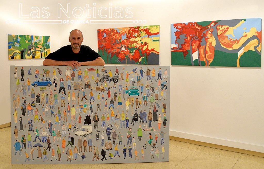 Javier Gutiérrez Maestro llega a la Galería Trazos con 'Usted está aquí'