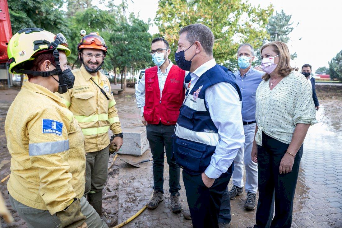 Castilla-La Mancha se acogerá a ayudas de emergencia por los daños de las tormentas
