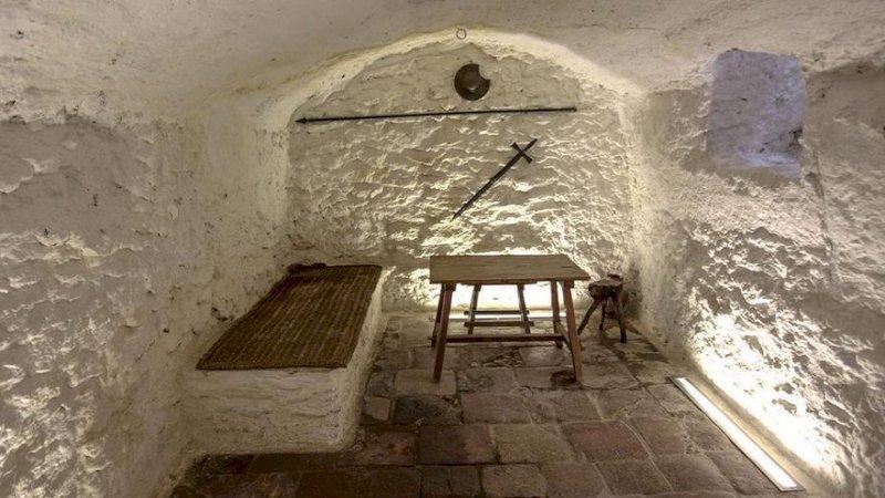 Cueva de Medrano en Argamasilla de Alba donde la leyenda dice que Cervantes empezó 'El Quijote'