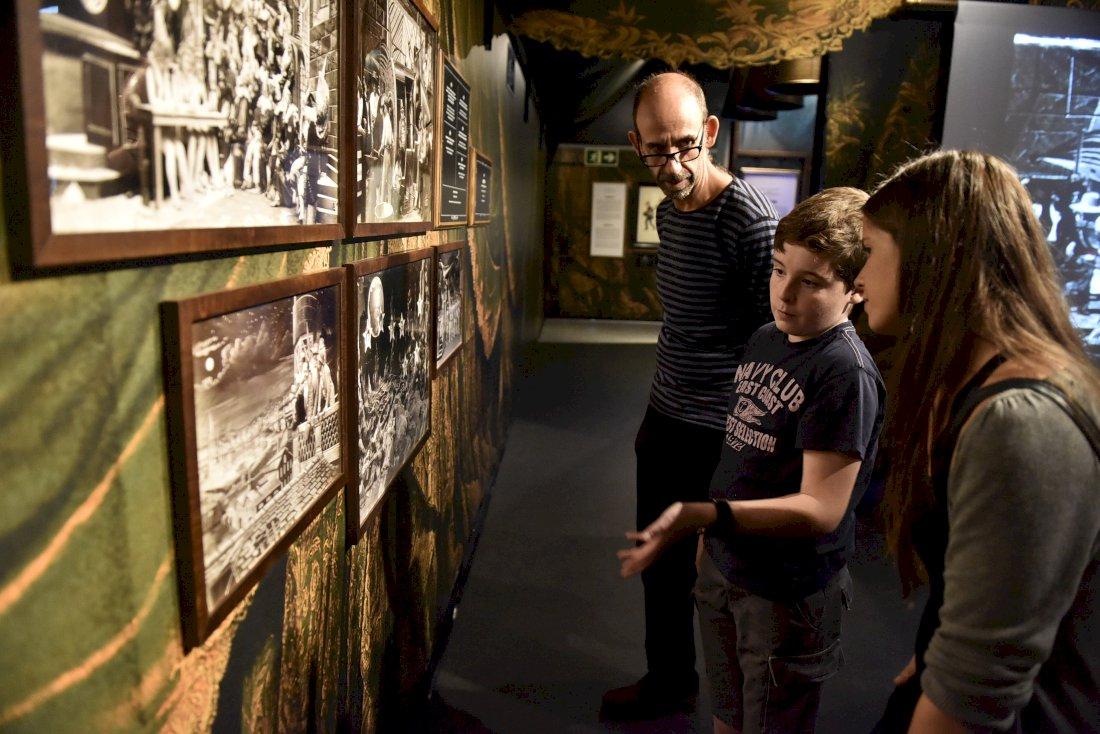 El parque San Julián acoge la exposición 'Georges Méliès y el cine de 1900'