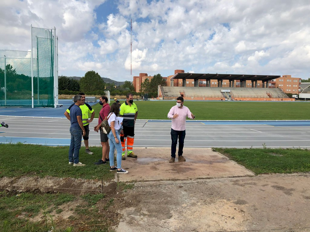 Visto bueno a los preparativos para el Campeonato de España de Atletismo Sub16