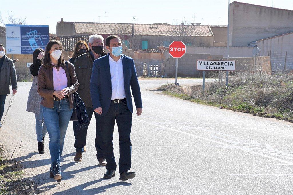 Las expropiaciones para el arreglo de la carretera Quintanar-Villagarcía, a finales de año