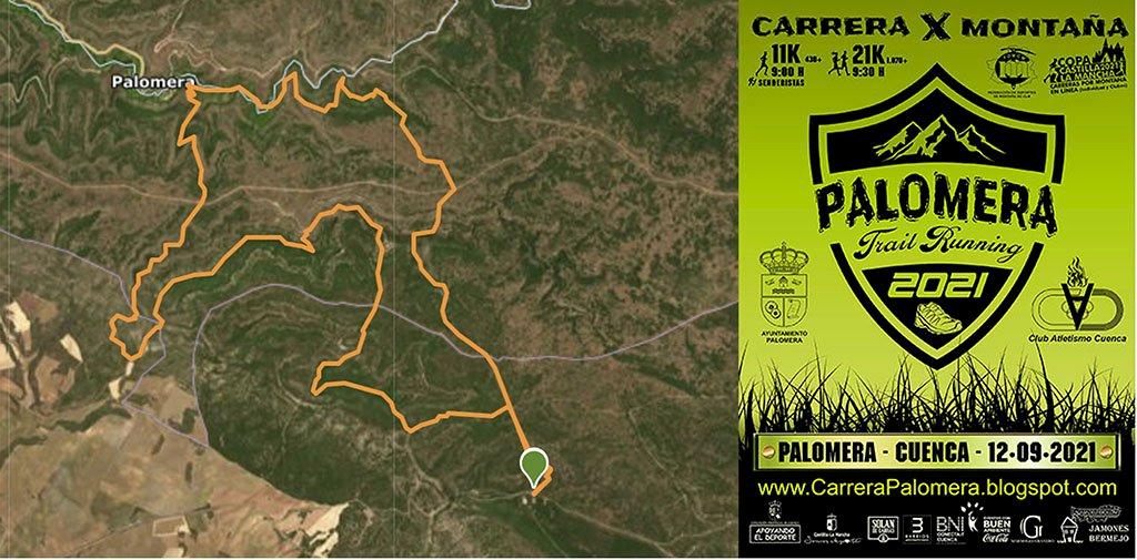 Un hombre de 46 años fallece durante una carrera por montaña entre Palomera y Cuenca