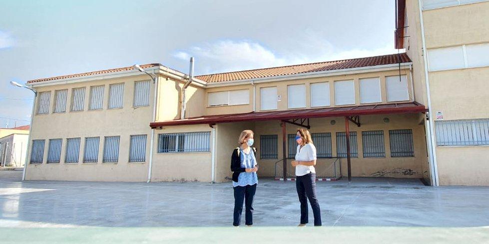 Mejora la eficiencia energética del colegio de Campillo de Altobuey