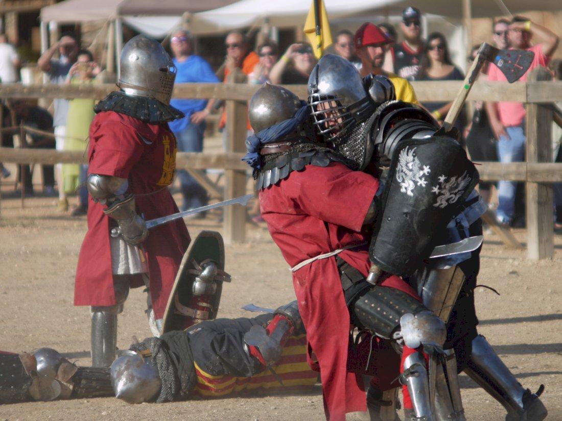 Todo listo en Belmonte para el V Torneo Nacional de Combate Medieval