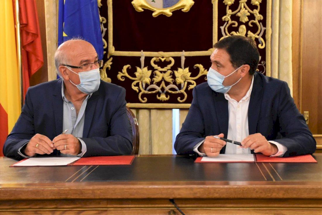 Diputación incrementa un 11% la cuantía de su convenio anual con Cáritas