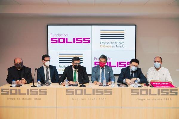 La Fundación Soliss patrocina el Festival de Música El Greco en Toledo