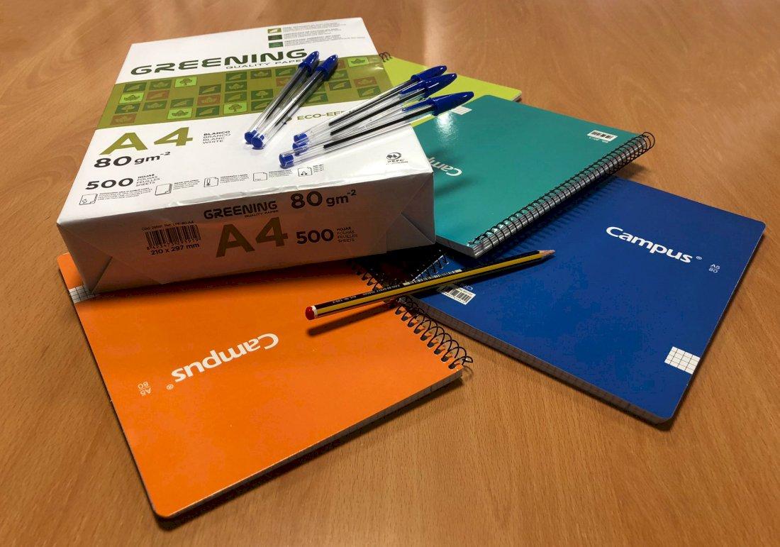 Alcampo entrega más de 95.000 artículos de material escolar a ONG's locales