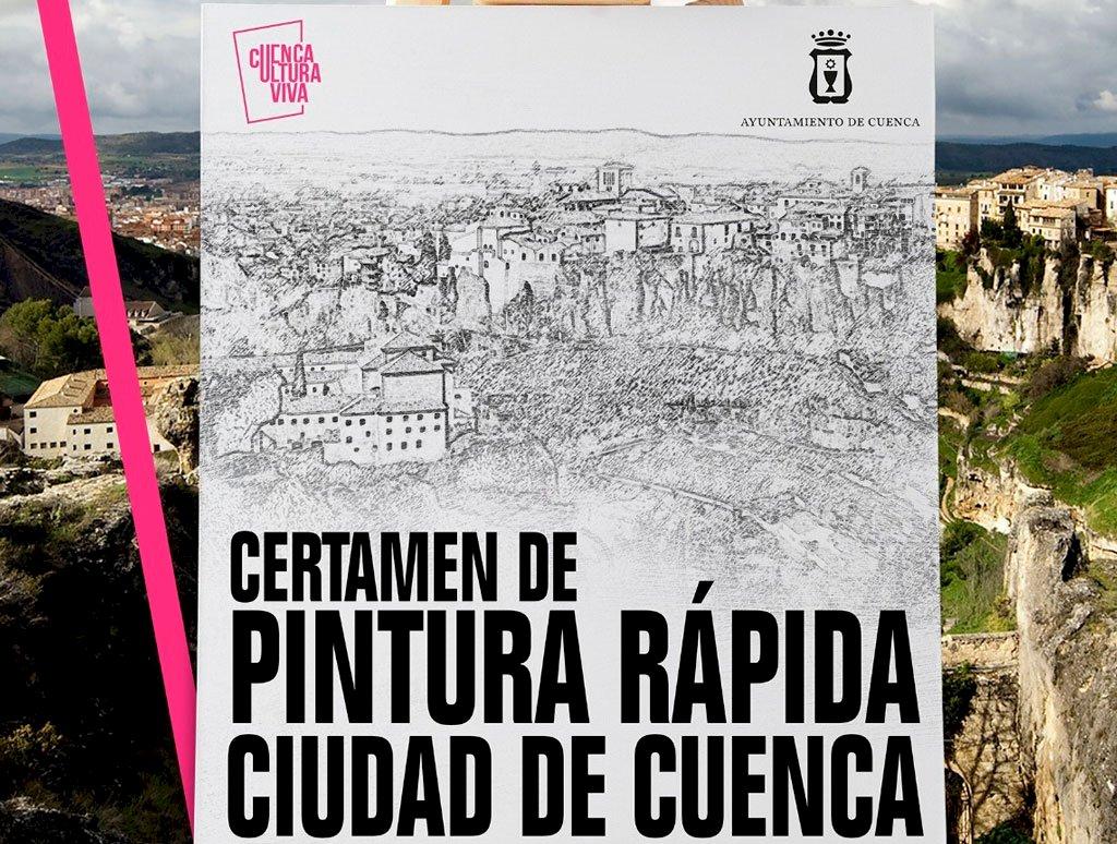 El Certamen de Pintura Rápida de Cuenca repartirá 10.000 euros en premios