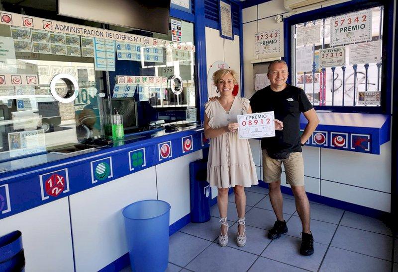 Consignado en Tarancón parte del primer premio de la Lotería Nacional