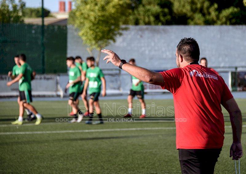 """Carlos Gómez: """"Esto es Tercera y muy pocas veces vamos a tener un final de partido cómodo"""""""
