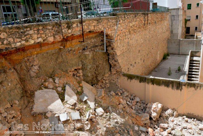El Ayuntamiento destinará 778.000 euros a reparar el muro de Ramiro de Maeztu