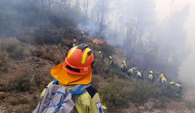 Cuenca despide un verano con menos incendios y el triple de superficie quemada