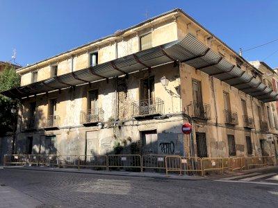 El PP reclama tomar medidas urgentes con el edificio de la calle Tintes