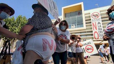 Nueva manifestación en Quintanar del Rey contra la macrogranja porcina