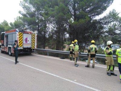 Una mujer de 70 años fallece en un accidente de tráfico en Buendía