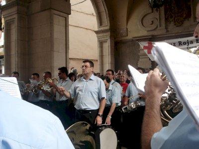¡Música matea, maestro!: 45 años de pasodobles bajo los arcos del Ayuntamiento