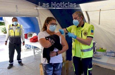 Arranca la vacunación frente a la Covid sin cita previa en el Campus de Cuenca