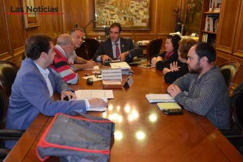 La Diputación y SOS Patrimonio colaborarán para recuperar la Iglesia románica de Caracena del Valle