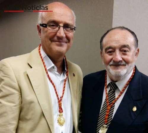 Miguel Romero recibe en Jaén la medalla de la Asociación Nacional de Cronistas de España