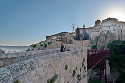 Termina el rodaje sobre Cuenca para la serie 'Ciudades Españolas Patrimonio de la Humanidad'