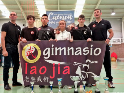 El Lao Jia Wu Shu inicia su temporada de competición con 11 medallas