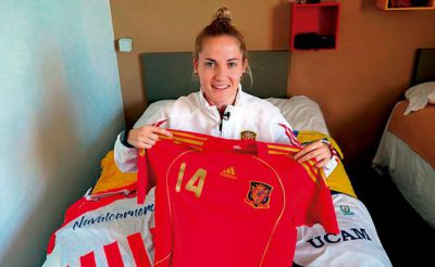 Ana Luján anota en la derrota de España ante Portugal