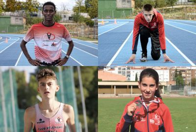 Póker de participación nacional para el Club Atletismo Cuenca