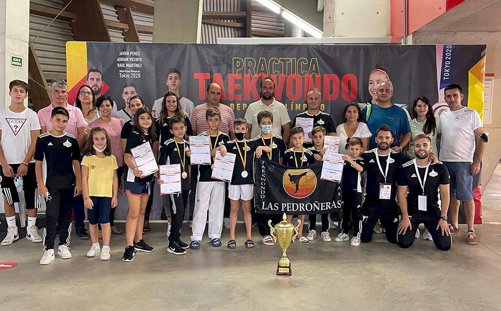 El C.D Taekwondo Chitae Las Pedroñeras, campeón de España Pre-Cadete por equipos