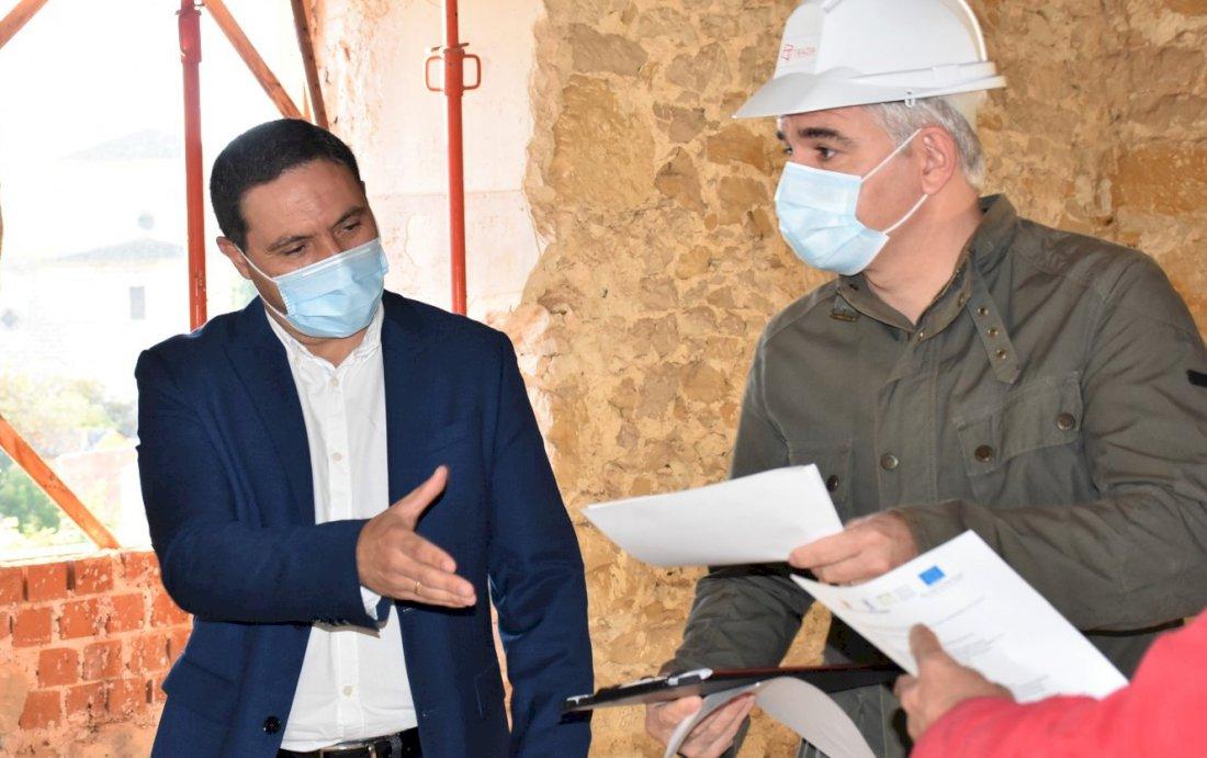 Diputación inicia las obras para la futura hospedería de Huete