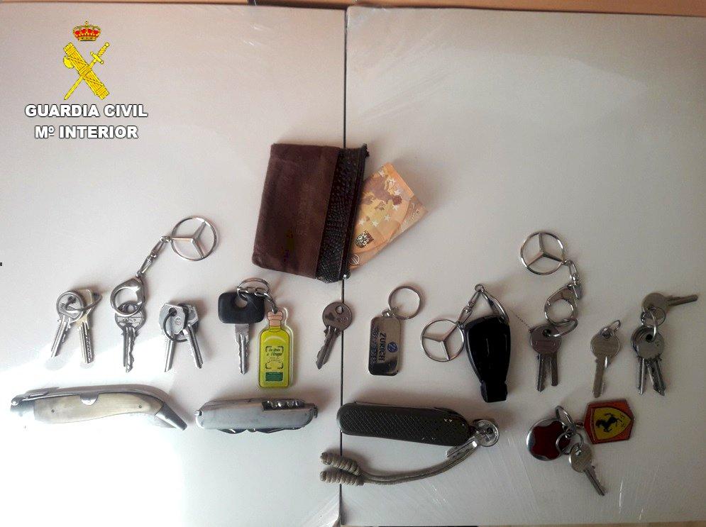 Detienen al autor del robo en una vivienda de Sisante