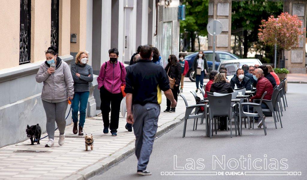 La provincia de Cuenca, con la incidencia semanal de Covid más baja de la región