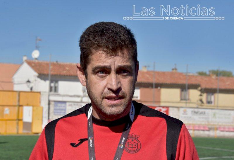 Manolo Martínez, entrenador de la Unión Balompédica Conquense