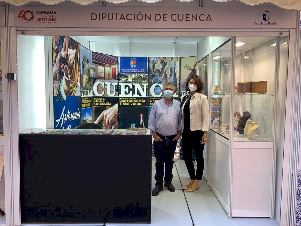 La artesanía conquense, presente en Farcama de la mano de la Diputación