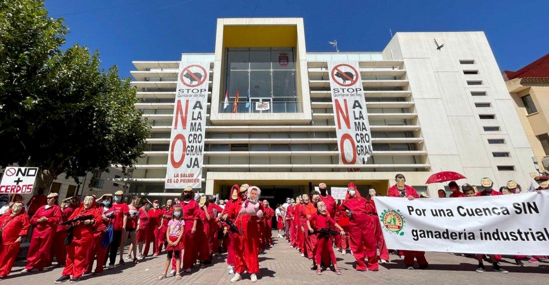 La Junta revisa de oficio la autorización ambiental de la macrogranja de Quintanar