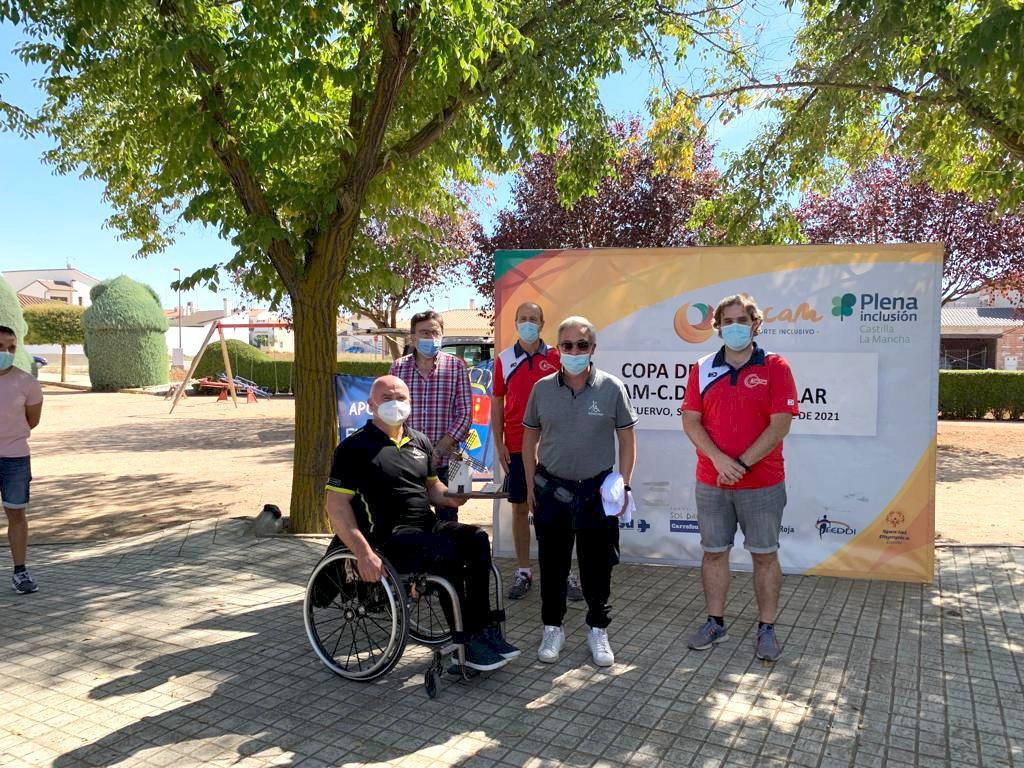 Mota del Cuervo acoge con éxito la Copa Fecam-El Castellar de Petanca