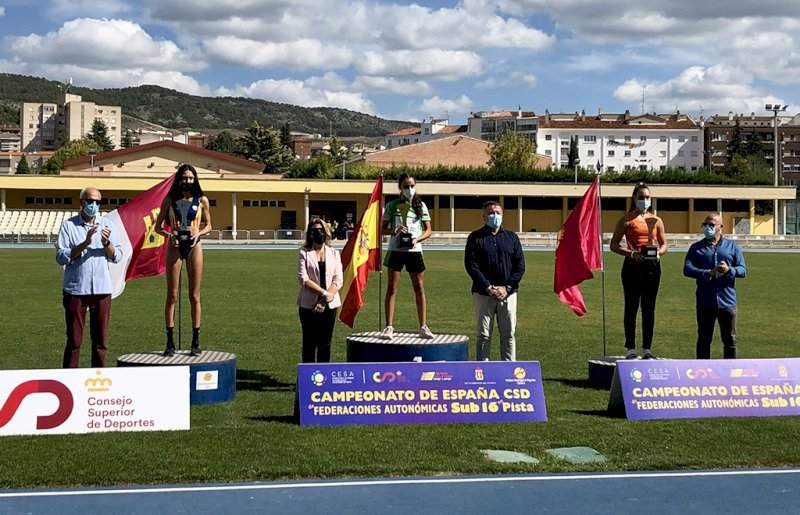 En categoría femenina, tras Andalucía, Cataluña y Comunidad Valenciana. Foto: Ayto. Cuenca