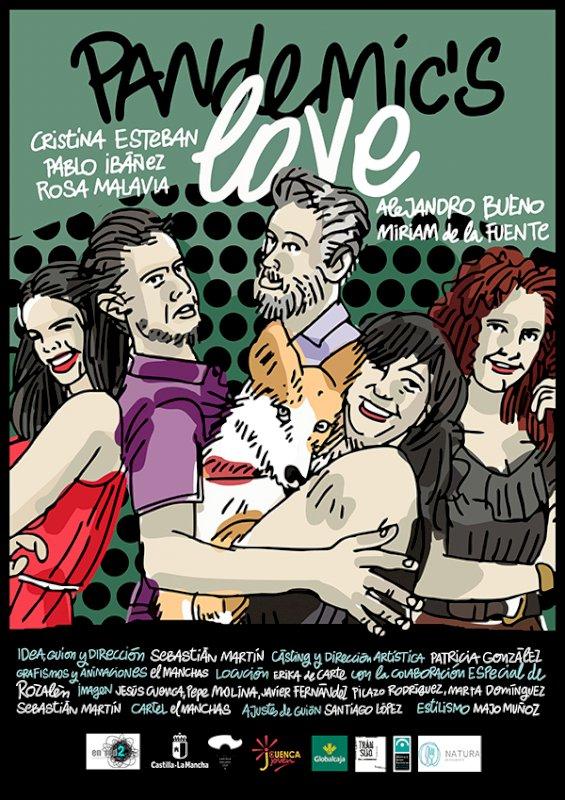 Cartel del cortometraje de Sebastián Martín