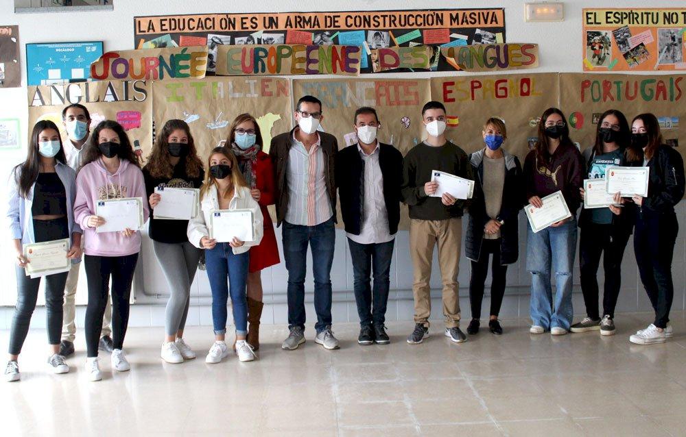 Iniesta beca con 200 euros los mejores expedientes del IES Cañada de la Encina