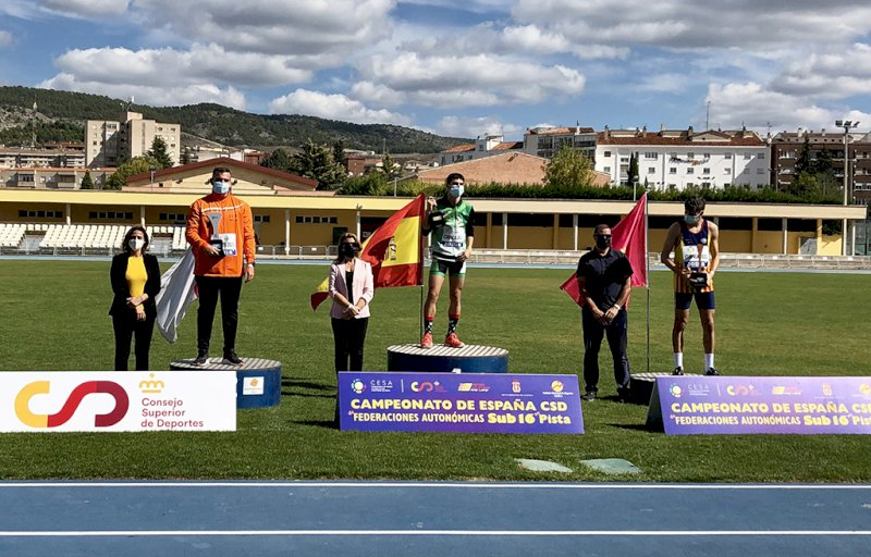 Andalucía, la gran ganadora del Campeonato de España de Atletismo Sub-16 en Pista