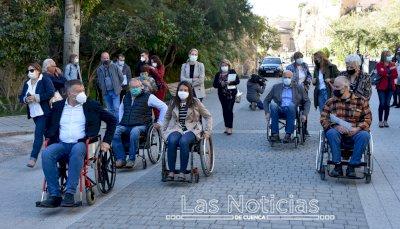 'Por aquí no puedo, por aquí no paso', la llamada de Aspaym para mejorar la movilidad