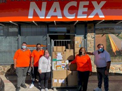 El PSOE de Horcajo de Santiago recoge material y productos no perecederos para La Palma