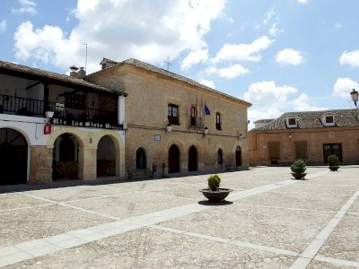 Todo listo en Villamayor de Santiago para celebrar la I Magaza del Gigüela