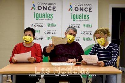 El Día del Bastón Blanco marca el inicio de la Semana de la ONCE en Cuenca