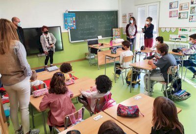 Acción formativa en el CRA 'Elena Fortún' en el marco de su proyecto Erasmus+