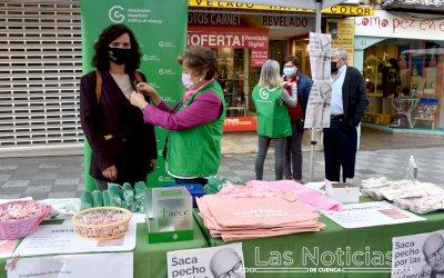 Cuenca 'saca pecho' contra el cáncer de mama
