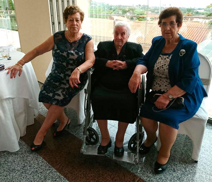 La abuela de Torrubia del Castillo cumple 105 años