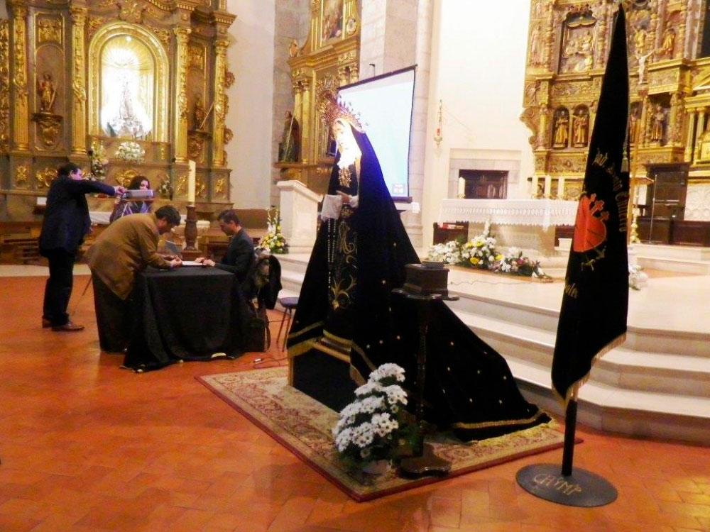 La Virgen de la Soledad de Tarancón ya tiene su propia marcha