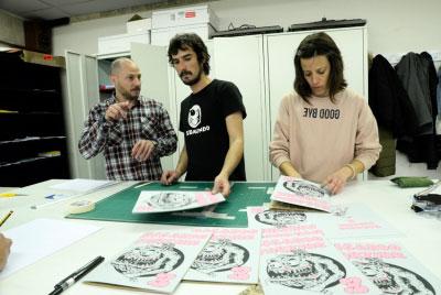Lamosa acoge la muestra de arte emergente 'Notes on the teen-ternet', de Manuel Minch
